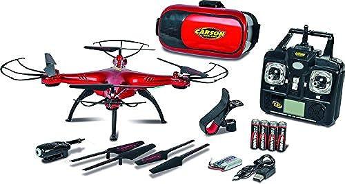 Carson 500507122 - X4 Quadcopter 360 3D FPV 2.4G 100% RTF, Fahrzeug