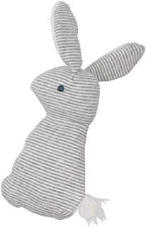 Anniston Kids Toys, Cute Rabbit Plush Animal Baby Hand Grip BB Stick Rattle Squeaker Education Toy Baby Toys Perfect Fun T...