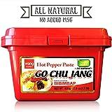 Hot Red Chili Pepper Paste, Korean Traditional Essential Seasoning Sauce 'Go Chu Jang', gochujang...