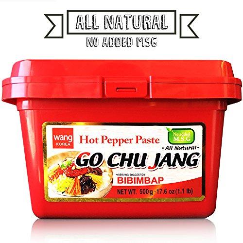 "Hot Red Chili Pepper Paste, ""Go Chu Jang"""