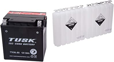Tusk Tec-Core Battery with Acid TTX30LBS Maintenance-Free - Fits: Arctic Cat PROWLER 700 HDX 2011-2013