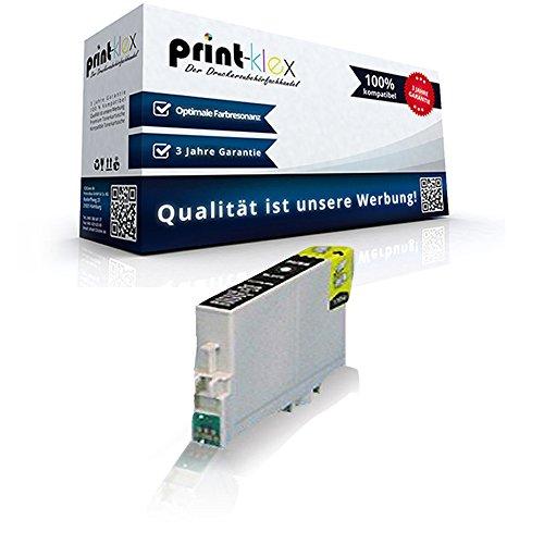 Kompatible Reinigungspatrone für Epson Stylus DX 4800 Series Stylus DX 4850 Stylus DX 4850 Plus T0611 T 0611 Black Schwarz - Office Quantum Serie