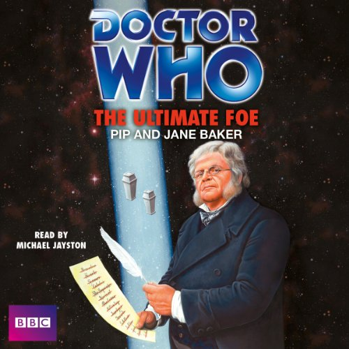 Doctor Who: The Ultimate Foe audiobook cover art
