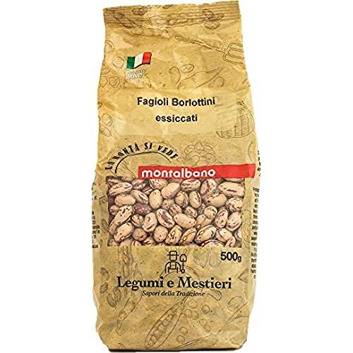MONTALBANO Fagioli Borlottini Italiani 6 Buste - 3 kg