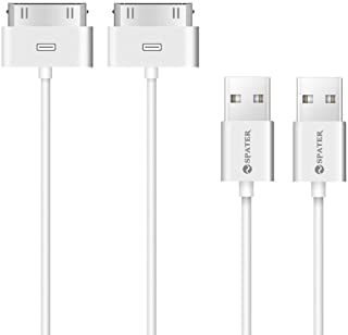 iPhone 4s Cable, 30-Pin USB Sync and Charging Data Cable for iPhone 4/4S/3G/3GS, iPad 1/2/3, and iPod (5'/1.5 Meter) - Pac...