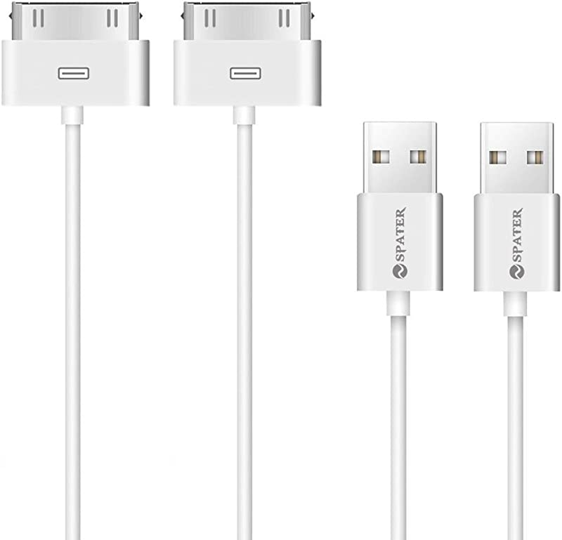 IPhone 4s Cable 30 Pin USB Sync And Charging Data Cable For IPhone 4 4S 3G 3GS IPad 1 2 3 And IPod 5 1 5 Meter Pack Of 2