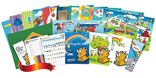 Compare Textbook Prices for Portuguese Poster and Book Set for Kids  ISBN 9781535726221 by Dino Lingo