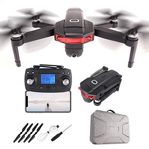 Posicionamiento de GPS RC DRONE, Quadcopter de RC plegable, Motor sin escobillas Drone FPV FPV, cámara de gran angular de 4K ESC, 360DEG;Tiro envolvente, trayectoria Vuelo 50 minutos Duración de la ba