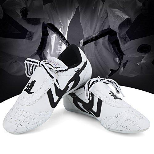 Taekwondo Schuhe Sneaker Kampfkunst Schuhe, Kinder Teenager Kampfkunst Training Schuhe Sport Boxen Karate Schuhe für Taekwondo, Boxen, Kung Fu, Taichi(34 Size Suitable for 210mm Foot Length)