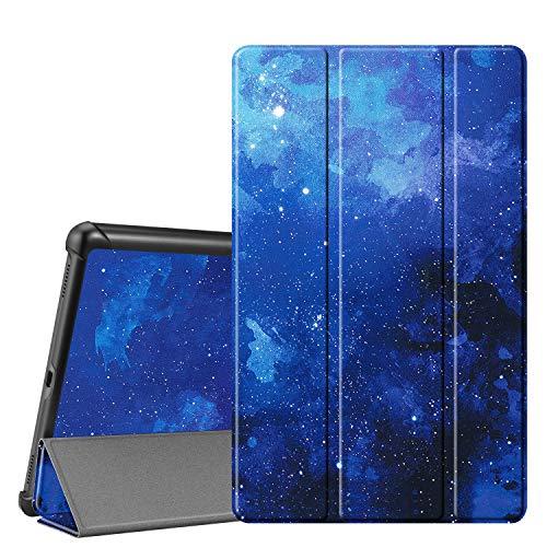 Fintie Hülle für Samsung Galaxy Tab A 10.1 T510/T515 2019 - Ultra Schlank Superleicht Kunstleder Schutzhülle mit Standfunktion für Samsung Galaxy Tab A 10.1 Zoll 2019 Tablet, Sternenhimmel
