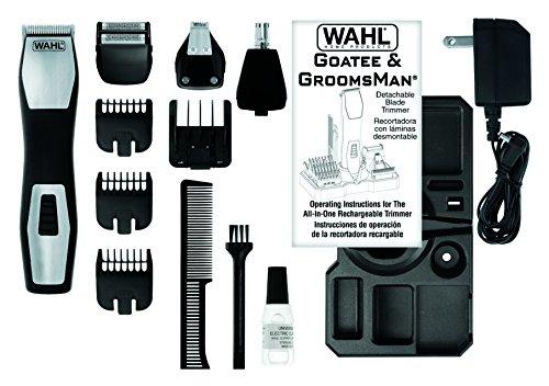 Wahl 09855-1216 Groomsman Pro, Recortadora multiuso