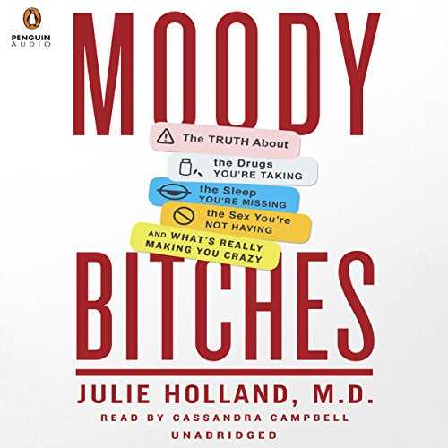 Moody Bitches audiobook cover art