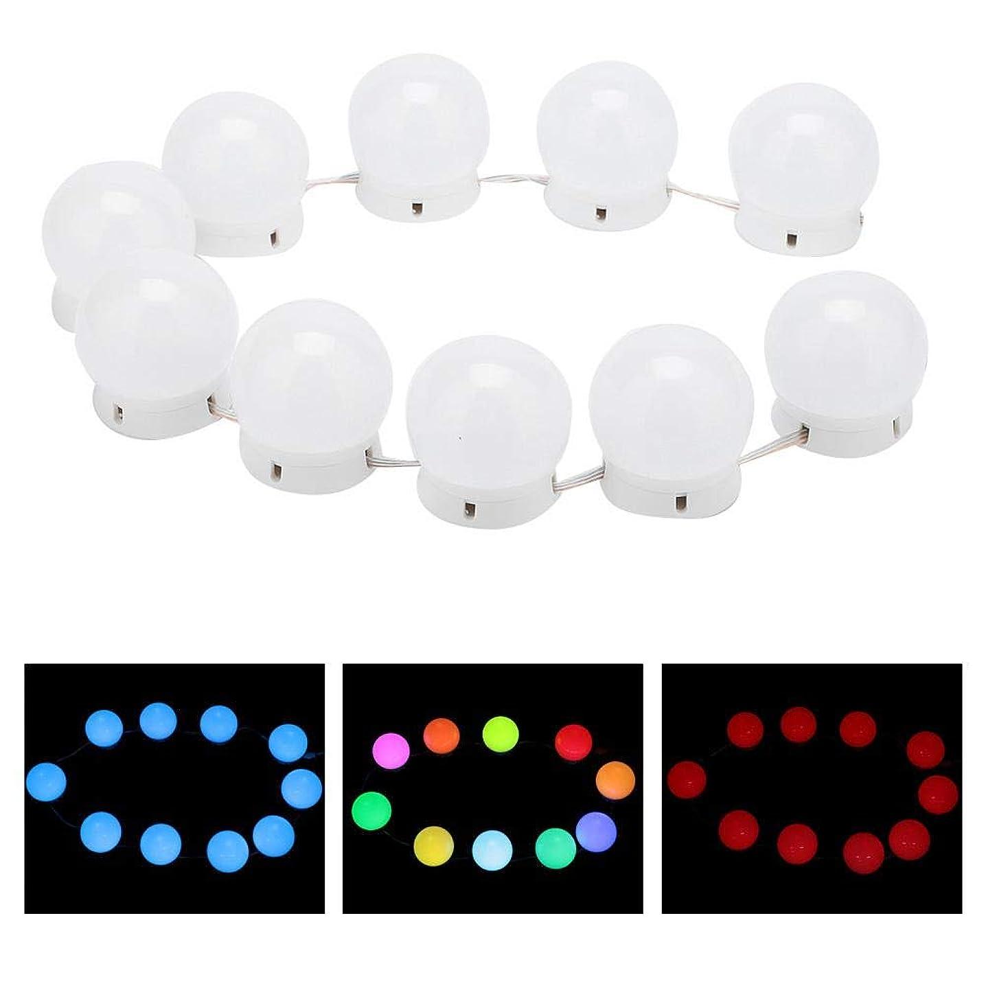 合併症スリップキャラクター化粧鏡ラ??イトキット 10 LED付き調 光ライトストリング電球バニティライト化粧鏡に最適 バスルームの照明