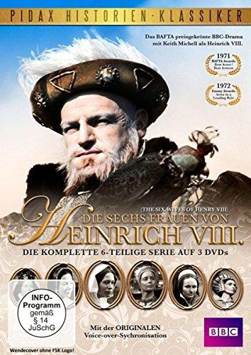 Die sechs Frauen von Heinrich VIII. (The Six Wives of Henry VIII) - Die komplette 6-teilige Kultserie (Pidax Historien-Klassiker) [3 DVDs]