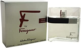 Salvatore Ferragamo F Pour Homme Black Eau De Toilette Spray - 100ml/3.4oz