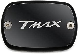 Tmax 530 Tmax 500 Fluido de Freno Delantero Depósito de Combustible tanque Front Brake Reservoir Fluid Cap par Yamaha Tmax530 XP530 2012 2013 2014 2015 2016 Tmax500 2008 2009 2010 2011 (Negro)