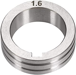 uxcell Welder Wire Feed Drive Roller 1.2-1.6mm Groove Roll Part for Welding Machine Tool