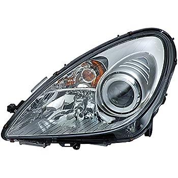 con lampadine Senza luce di curva dinamica HELLA 1EL 009 260-071 Alogeno Faro principale con motore regolazione assetto fari Sx
