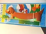 Dachshund Shaped Hot Dog Cutter: Kids Food Slicing Device