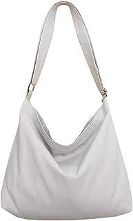 COAFIT Women Shoulder Bag Vintage Adjustable Canvas Casual Bag Crossbody Bag for Outdoor Travel