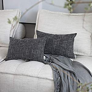 Kevin Textile Star Lined Linen Soft Solid Throw Cushion Pillow Covers