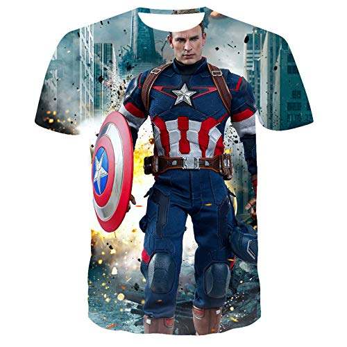 ASDZXC Capitán América Star Wars -...