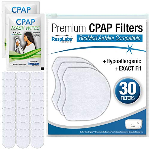 RespLabs CPAP Filters Compatible with ResMed AirMini