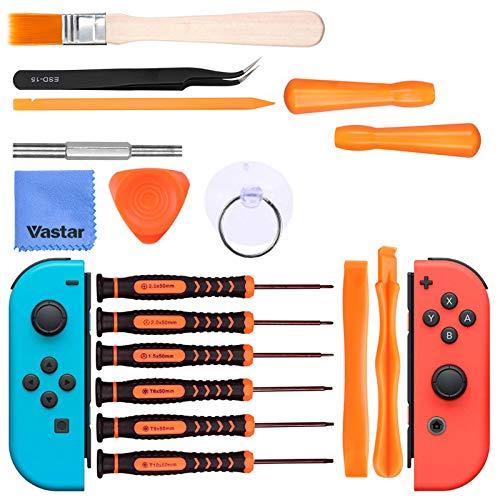 Vastar Tournevis Triwing pour Nintendo-Kit Professionnel complète pour Nintendo Switch/nouvelle 2DS,NDA et Nintendo Wii/SNES/NDS/NDSL/GBA,Gameboy Advance