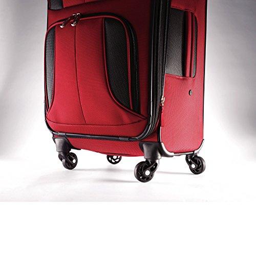 Samsonite Aspire Xlite Expandable Softside, Red, Checked-Large