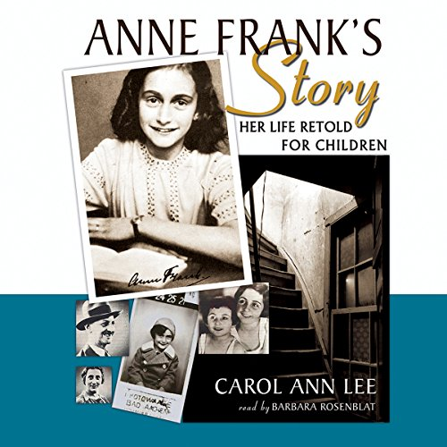 Anne Frank's Story audiobook cover art