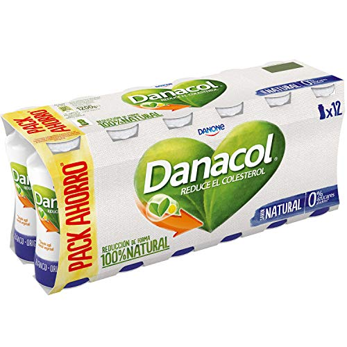 Danone Danacol - Paquete de 12 x 8.33 ml -