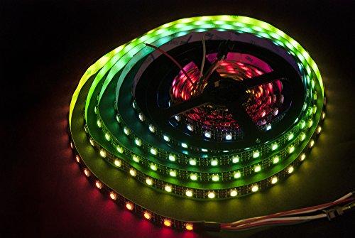 WS2812B 5m 300 LEDs - 60 LEDs/m 5050 SMD RGB LED Strip Streifen IP20 mit 3M Klebestreifen
