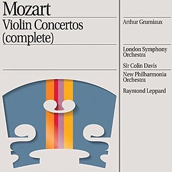Mozart: Violin Concertos Nos. 1/5 etc.