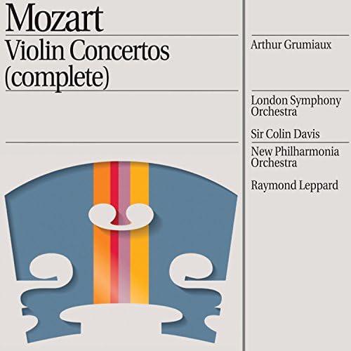 Arthur Grumiaux, London Symphony Orchestra, New Philharmonia Orchestra, Raymond Leppard & Sir Colin Davis