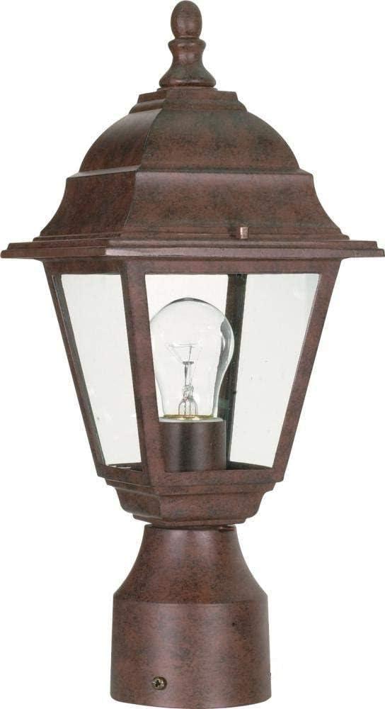 Ciata Lighting New arrival 1 Light Outdoor Aluminium Lantern in 5 ☆ very popular Post Bronze
