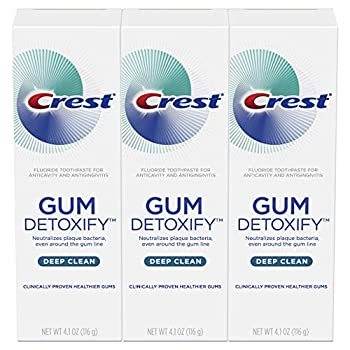 crest toothpaste gum detoxify
