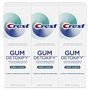 Crest Deep Clean Toothpaste To Detoxify