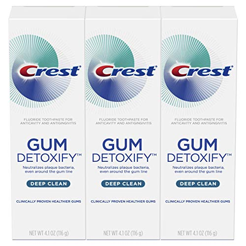 3-Pack 4.1oz Crest Gum Detoxify Deep Clean Toothpaste  $9.24 at Amazon