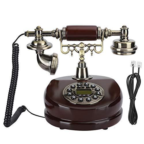 YUN Teléfono Europeo Resina De Doble Propósito Artesanía Antigua Decoración Dial Vintage MYS-6200A