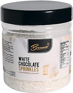 WHITE CHOCOLATE SPRINKLE (100 GM)-BENOIT   Luxury & Gourmet Food
