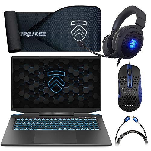Prometheus XVII Covert Gamer QHD 165Hz Gaming Laptop PC: Intel i7-10875H 8-Core NVIDIA GeForce RTX 3070 17.3' Calibrated Display Windows 10 Home 512GB PCIe NVMe SSD & 16GB 3200MHz DDR4 RAM