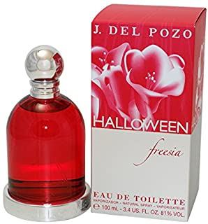 Halloween Freesia By Jesus Del Pozo For Women. Eau De Toilette Spray 3.4-Ounces