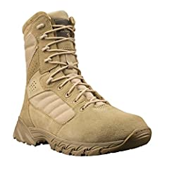 "Synthetic Shaft measures approximately 8"" from arch Shaft Height: 8"" Upper: Suede/Cordura 1000 Denier Features of this item include: Lace Up, Military"