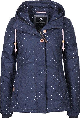 Ragwear Lynx Dots W Winterjacke navy M