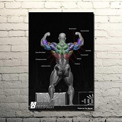 Puzzle 1000 piezas Frases inspiradoras de culturismo arte gimnasio fitness ejercicio fotos puzzle 1000 piezas Rompecabezas de juguete de descompresión intelectual educativo di50x75cm(20x30inch)