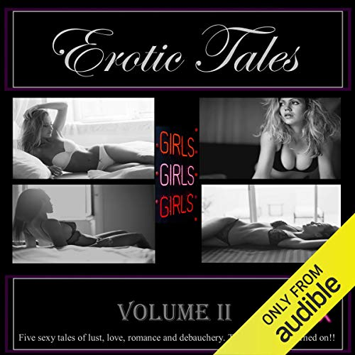Erotic Tales, Volume Two audiobook cover art