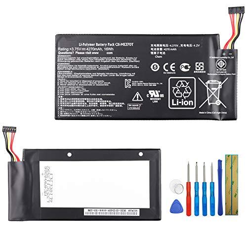 Batteria sostitutiva per portatile C11-ME370T compatibile con ASUS ME370T / MEMO Pad ME301T Google Nexus 7 ME3PNJ3 con strumenti