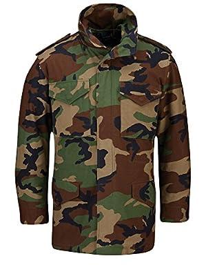 Propper Men's M65 Field Coat, Woodland, Medium Long