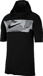 Men's Dri-FIT Camo Short Sleeve Training Hoodie