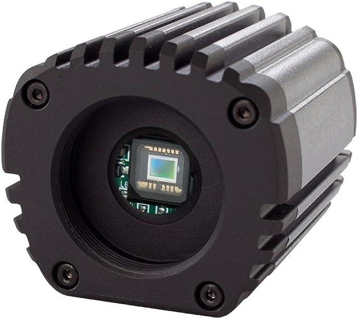 Camera elettronica con sensore cmos aptina aro132 a colori, cromo/nero celestron ce95509 skyris 132.m
